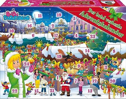 Weihnachtskalender Google.Schmidt Spiele Bibi Blocksberg Adventskalender