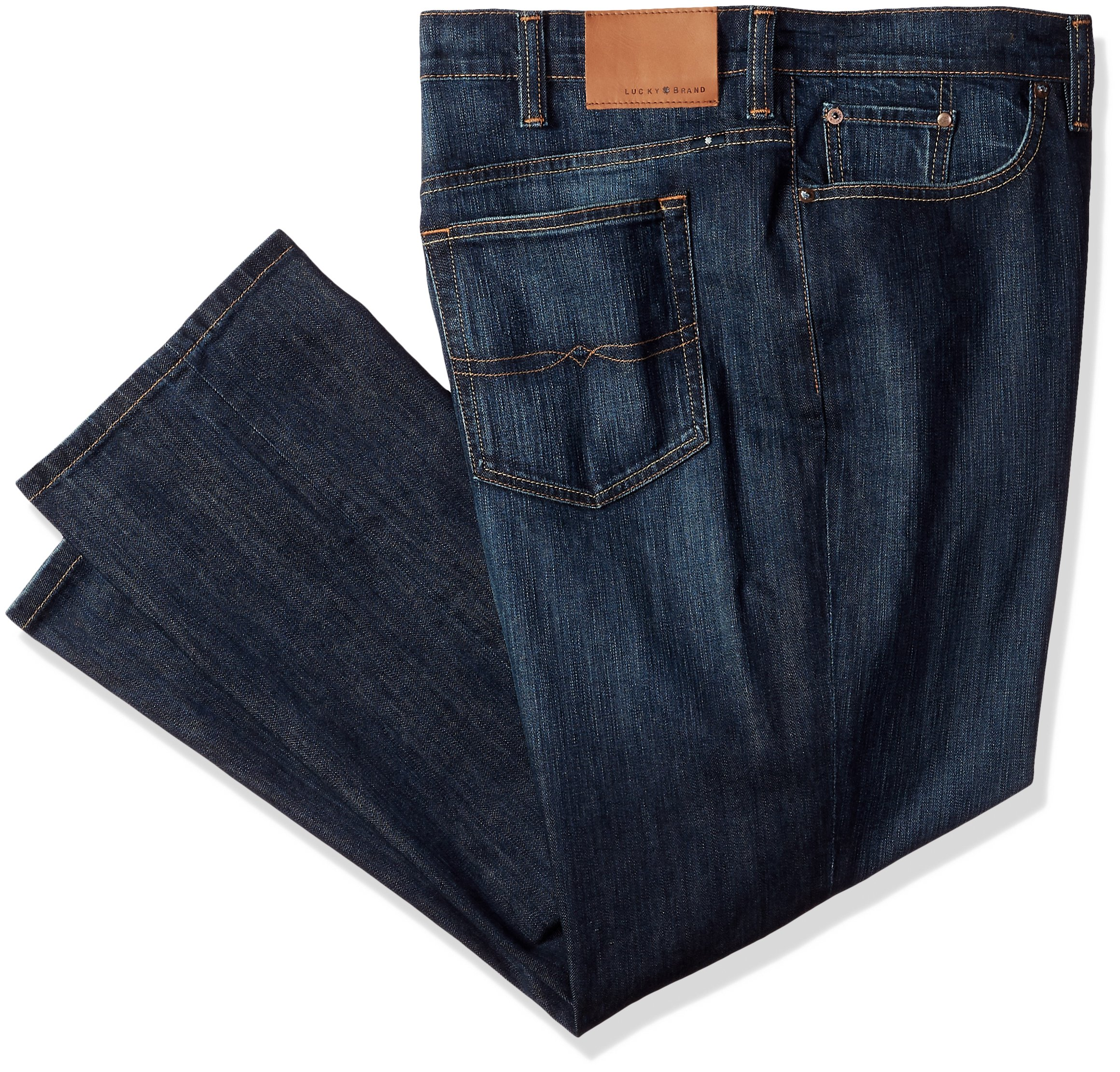 Lucky Brand Men's Big and Tall Big & Tall 329 Classic Straight Jean in Murrell, 46X30