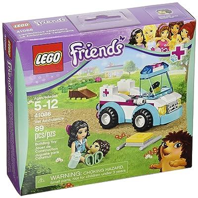 Lego Friends 41086 Vet Ambulance: Toys & Games