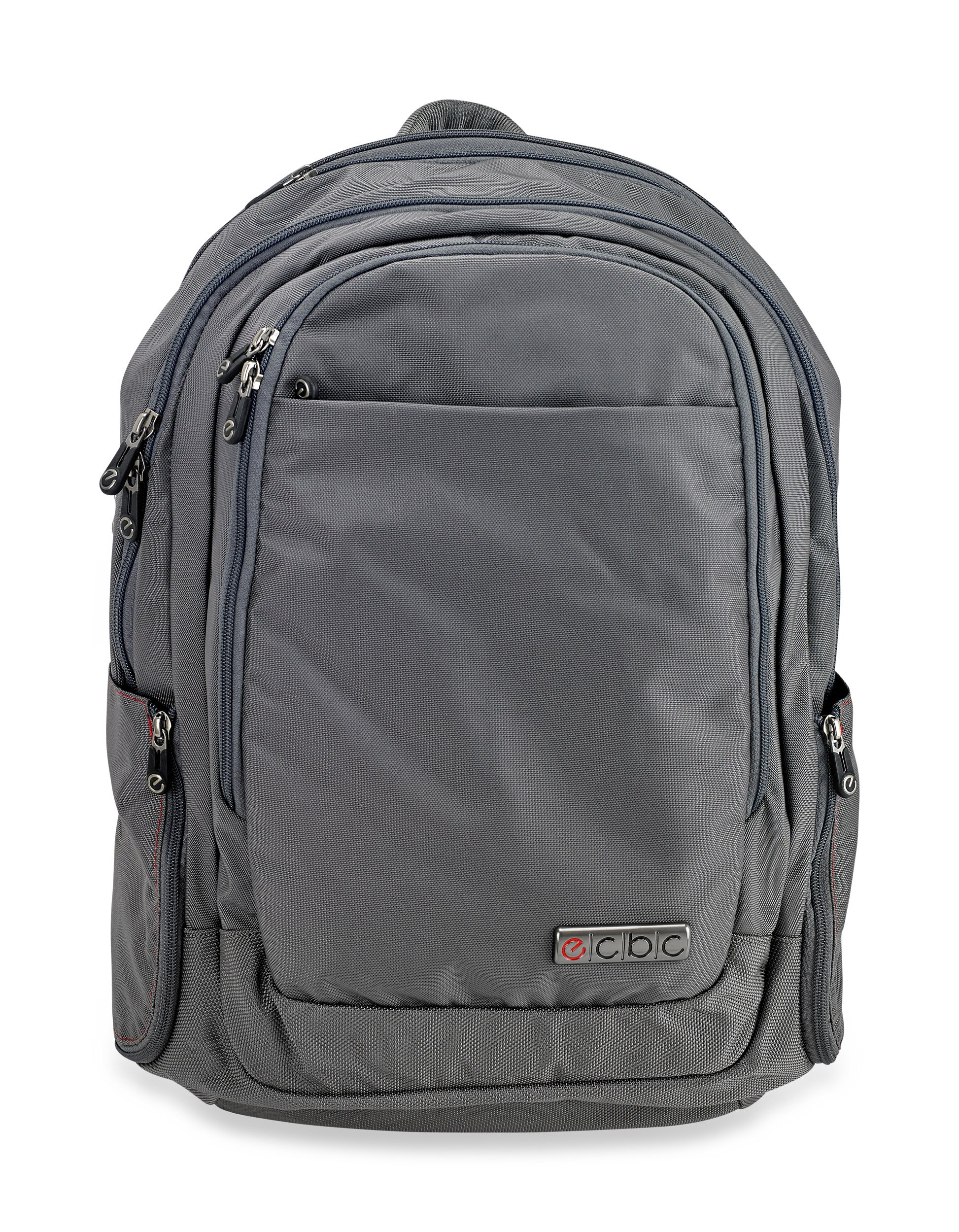 ECBC Javelin - Backpack Computer Bag - Grey (B7102-30) Daypack for Laptops, MacBooks & Devices Up to 16.5'' - Travel, School or Business Backpack for Men & Women - Premium Quality, TSA FastPass Friendly by ECBC