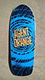 NEW Agent Orange OFFICIAL Skate Punk OldSchool Skateboard Skate Deck