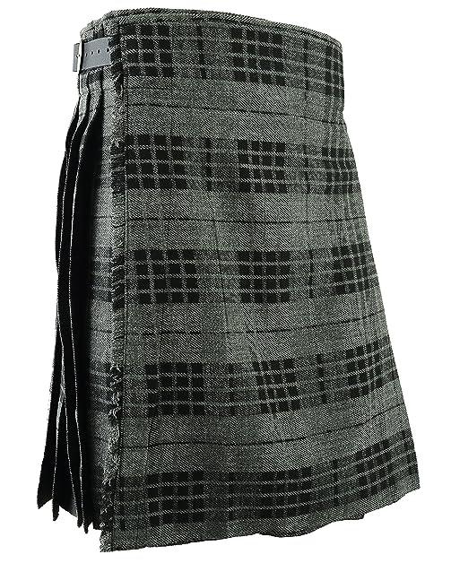 a8d8a3dd635 Gris para falda escocesa Scottish Highland falda tradicional e  instrucciones para hacer vestidos  Amazon.es  Ropa y accesorios