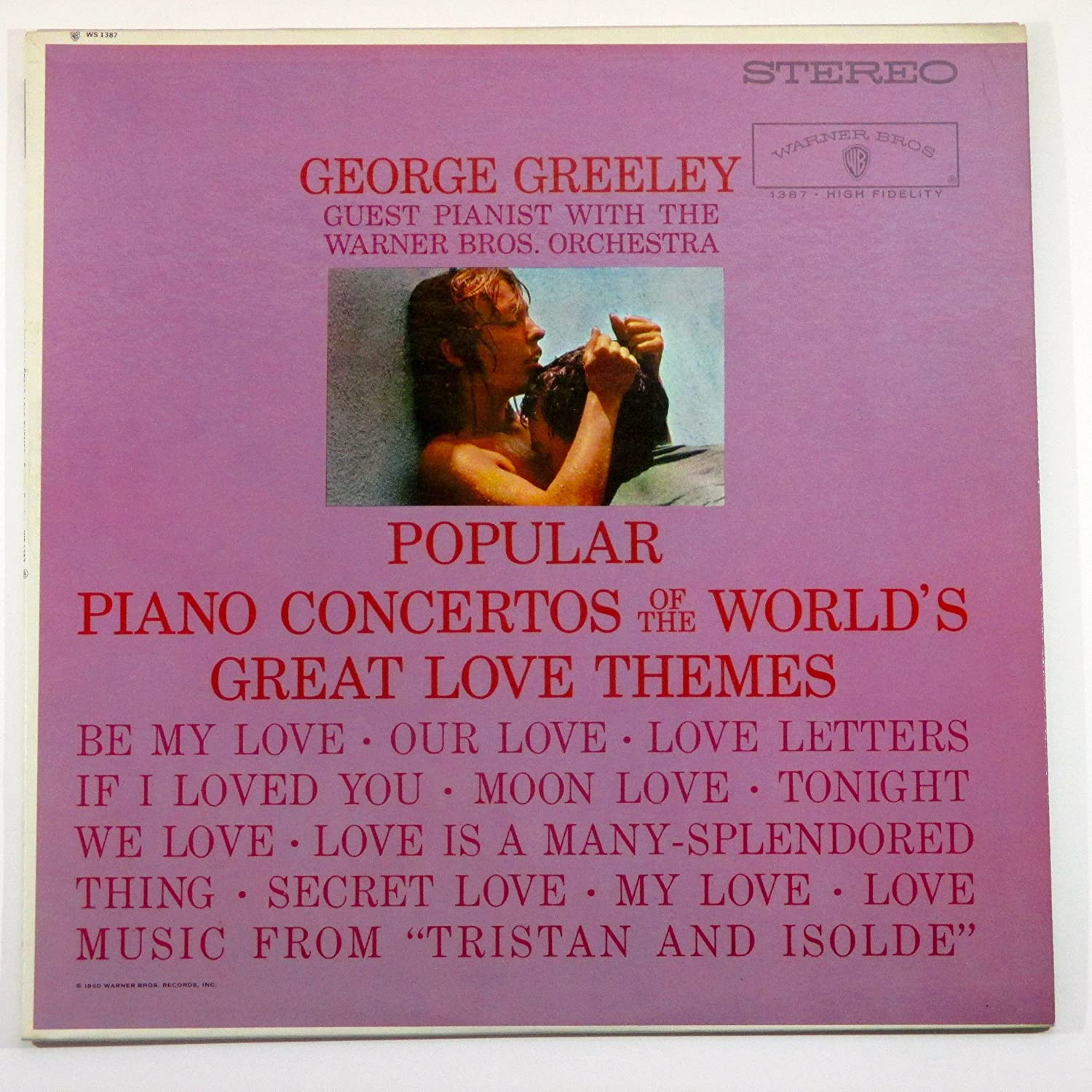 GEORGE GREELEY - popular piano concertos of the world's