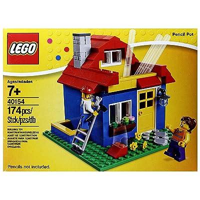 LEGO Pencil Pot 40154: Toys & Games