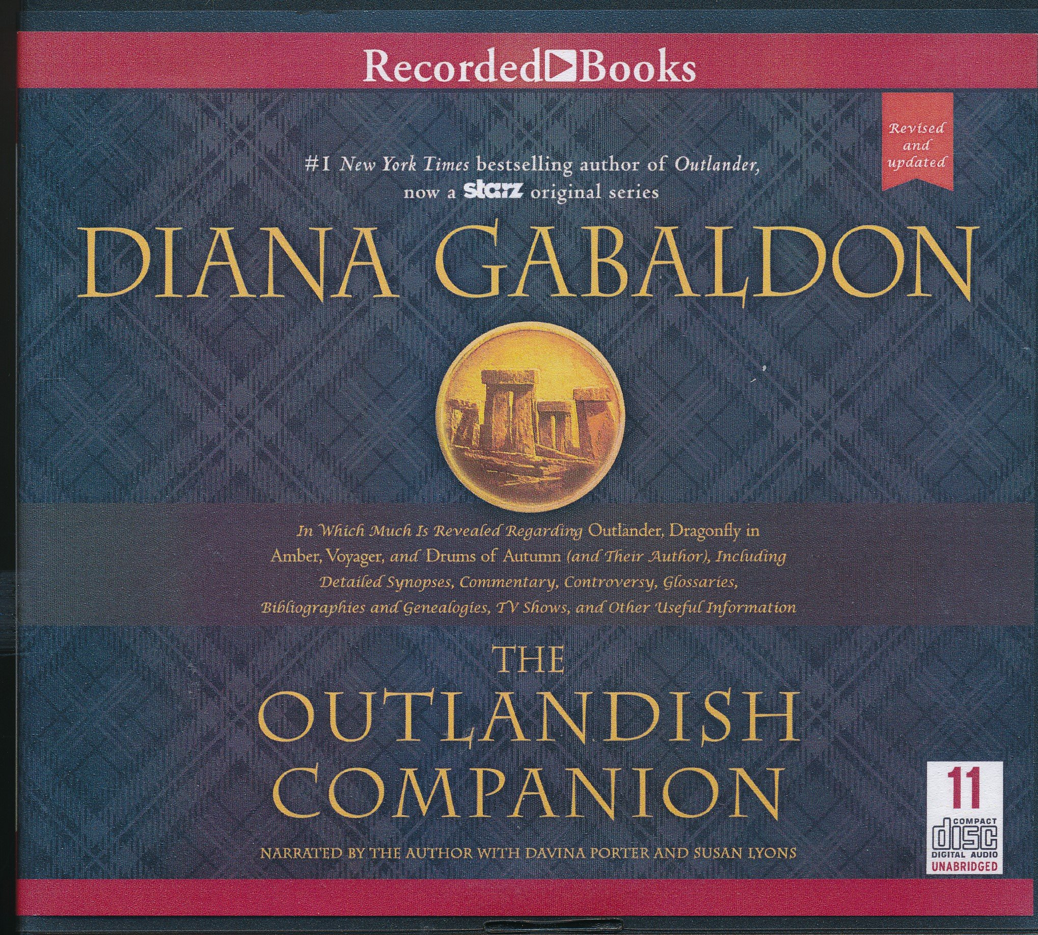 Companion to Outlander, Dragonfly in Amber, Voyager, and Drums of Autumn