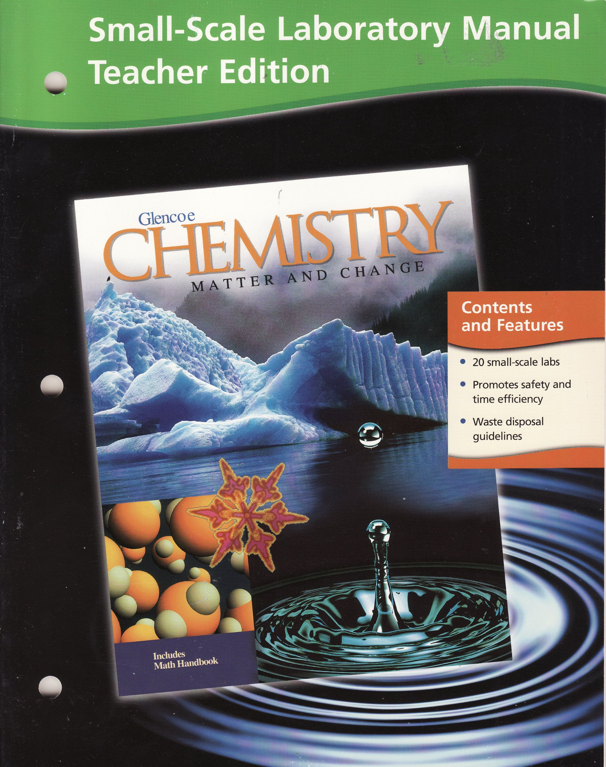 Buy Chemistry: Matter and Change, Small Scale Laboratory Manual Book Online  at Low Prices in India | Chemistry: Matter and Change, Small Scale  Laboratory ...