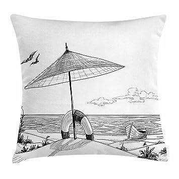 Amazon.com: Playa, para el hogar o la oficina, en forma de ...