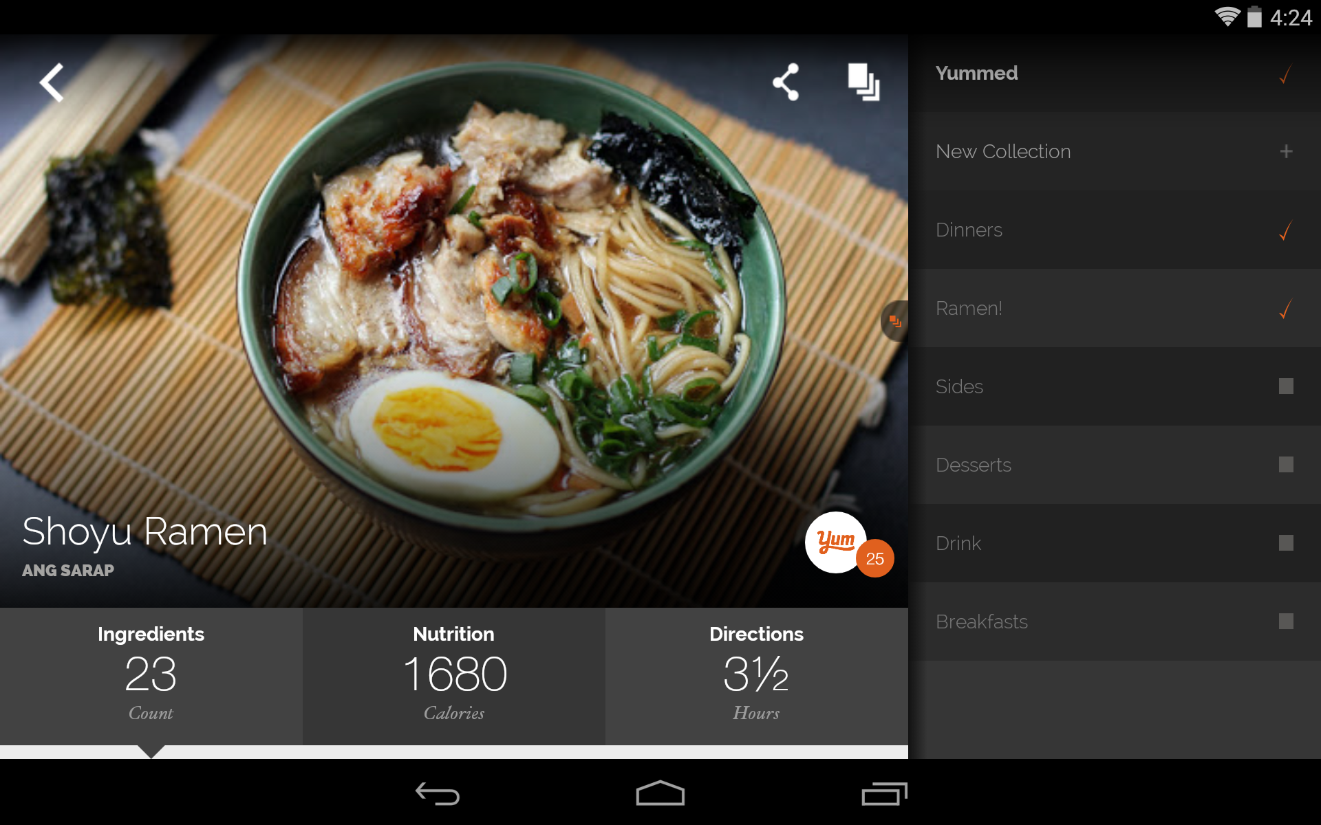 Amazon yummly recipes recipe box appstore for android forumfinder Choice Image
