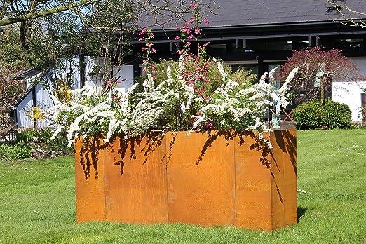 Acero Corten Acero Bancal, Premium Calidad: Amazon.es: Jardín