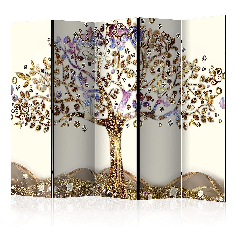 murando - Raumteiler Baum - Foto Paravent 225x172 cm - einseitig auf ...