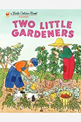 Two Little Gardeners (Little Golden Book) Hardcover