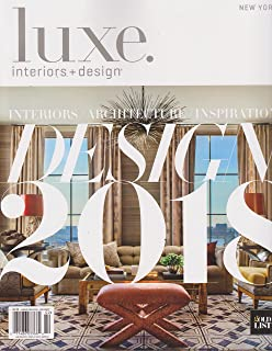 Luxe Interiors + Design Magazine New York Edition Magazine January/February  2018