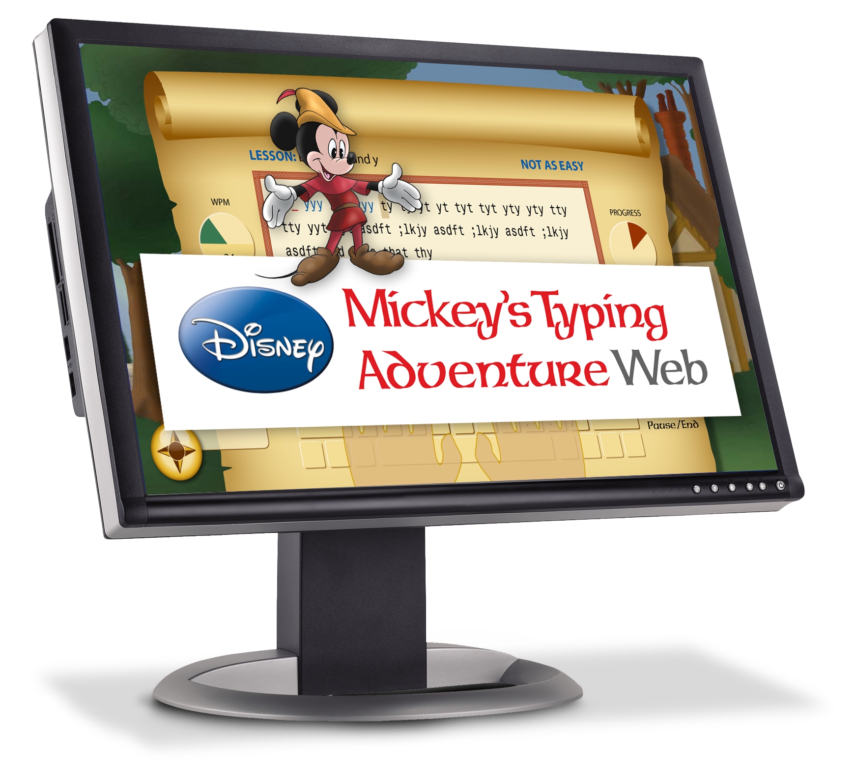 Disney Mickey's Typing Adventure Web - One Year Subscription [Online Code]