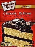 DUNCAN HINES Classic Cake Mix, Yellow, 15.25 oz