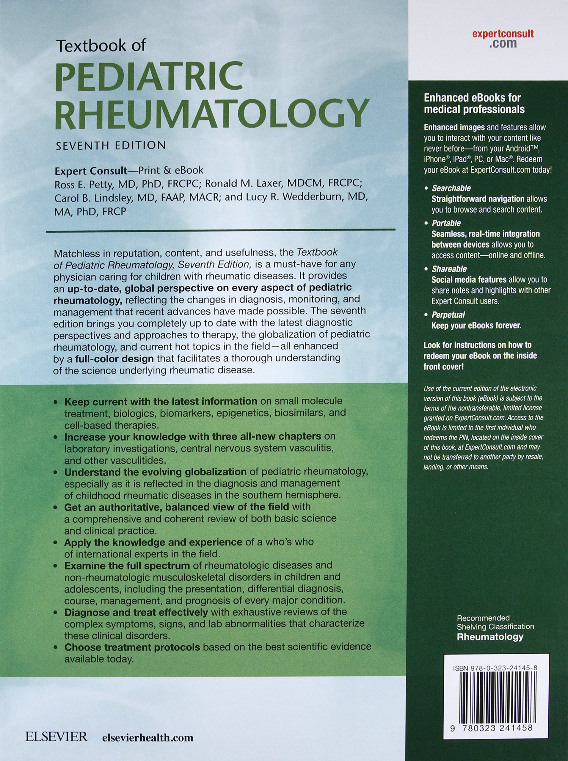 Buy Textbook of Pediatric Rheumatology Book Online at Low Prices in India |  Textbook of Pediatric Rheumatology Reviews & Ratings - Amazon.in