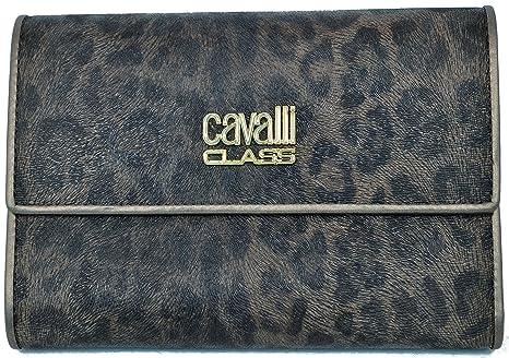 sale retailer f6094 6fbb3 Portafoglio Roberto Cavalli Class Women Wallet ecopelle ...