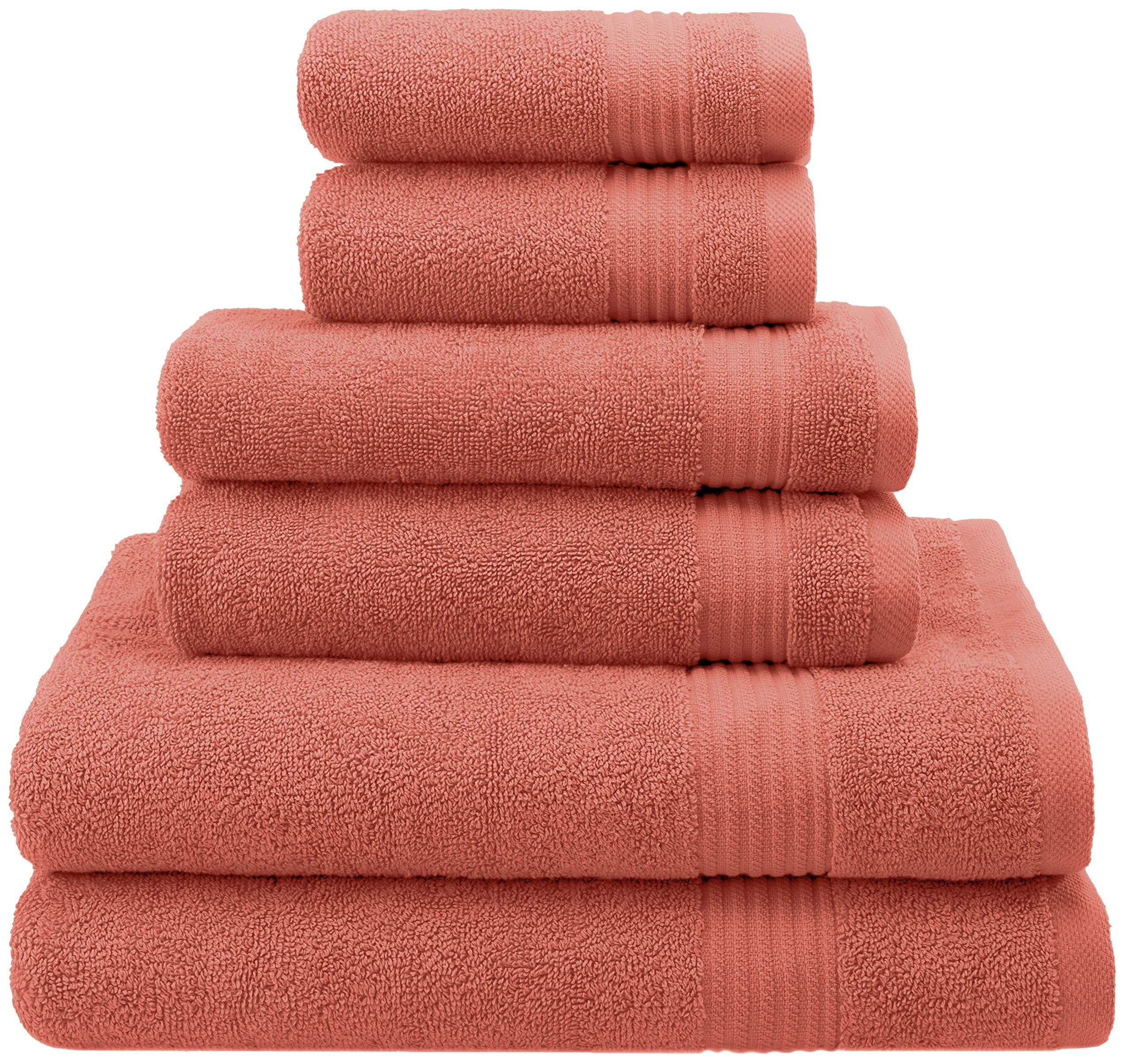 Absorbent /& Soft Decorative Kitchen /& Bathroom Turkish Towels Cotton Paradise Luxury Hotel /& Spa Quality 40 x 80 Bath Sheet, Coral