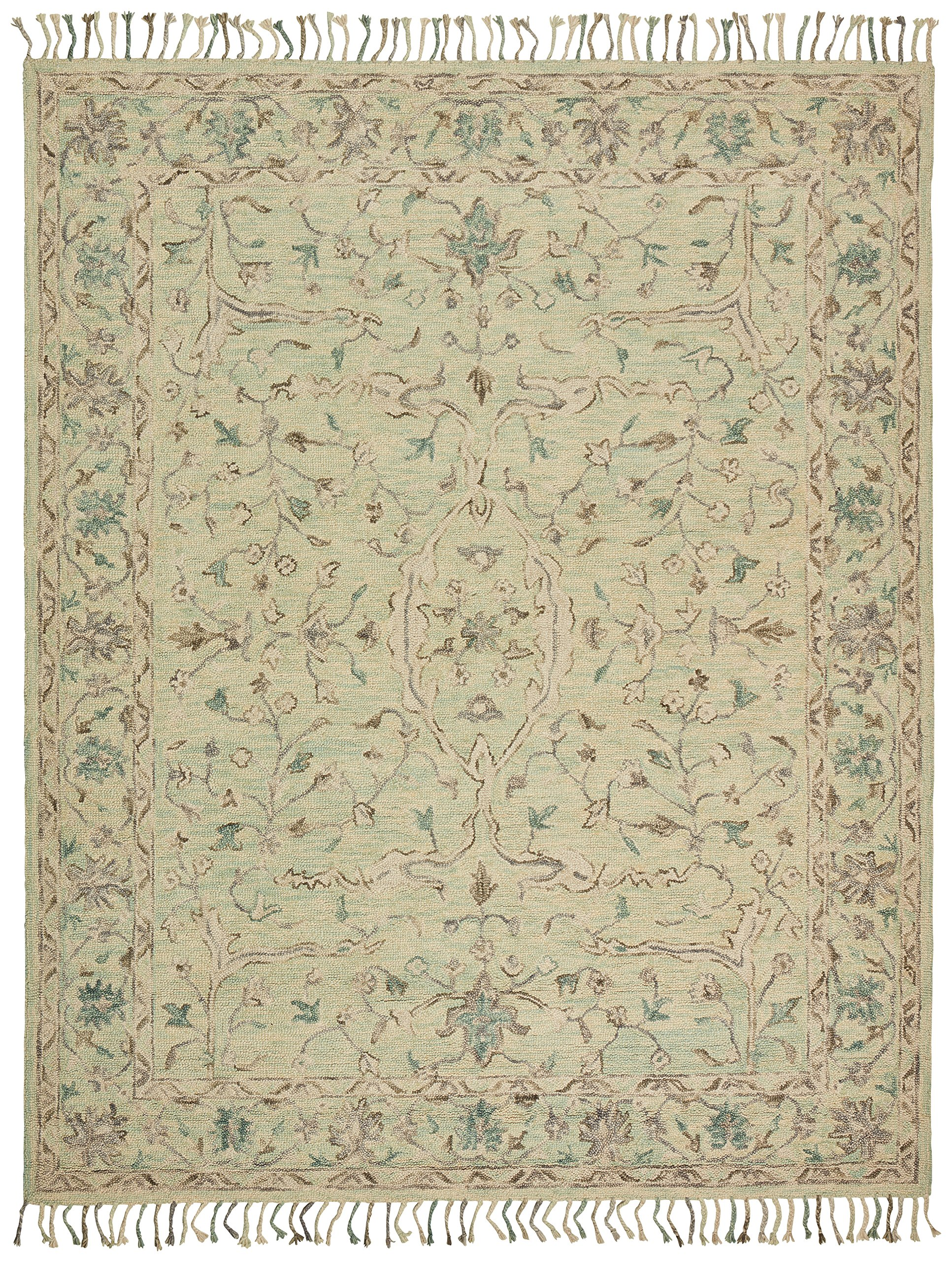 Stone & Beam Serene Transitional Wool Area Rug, 8' x 10', Multi by Stone & Beam (Image #1)