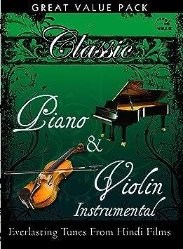 Various - Classic Piano & Violin Hindi Tunes Instrumental: 2 CD Set