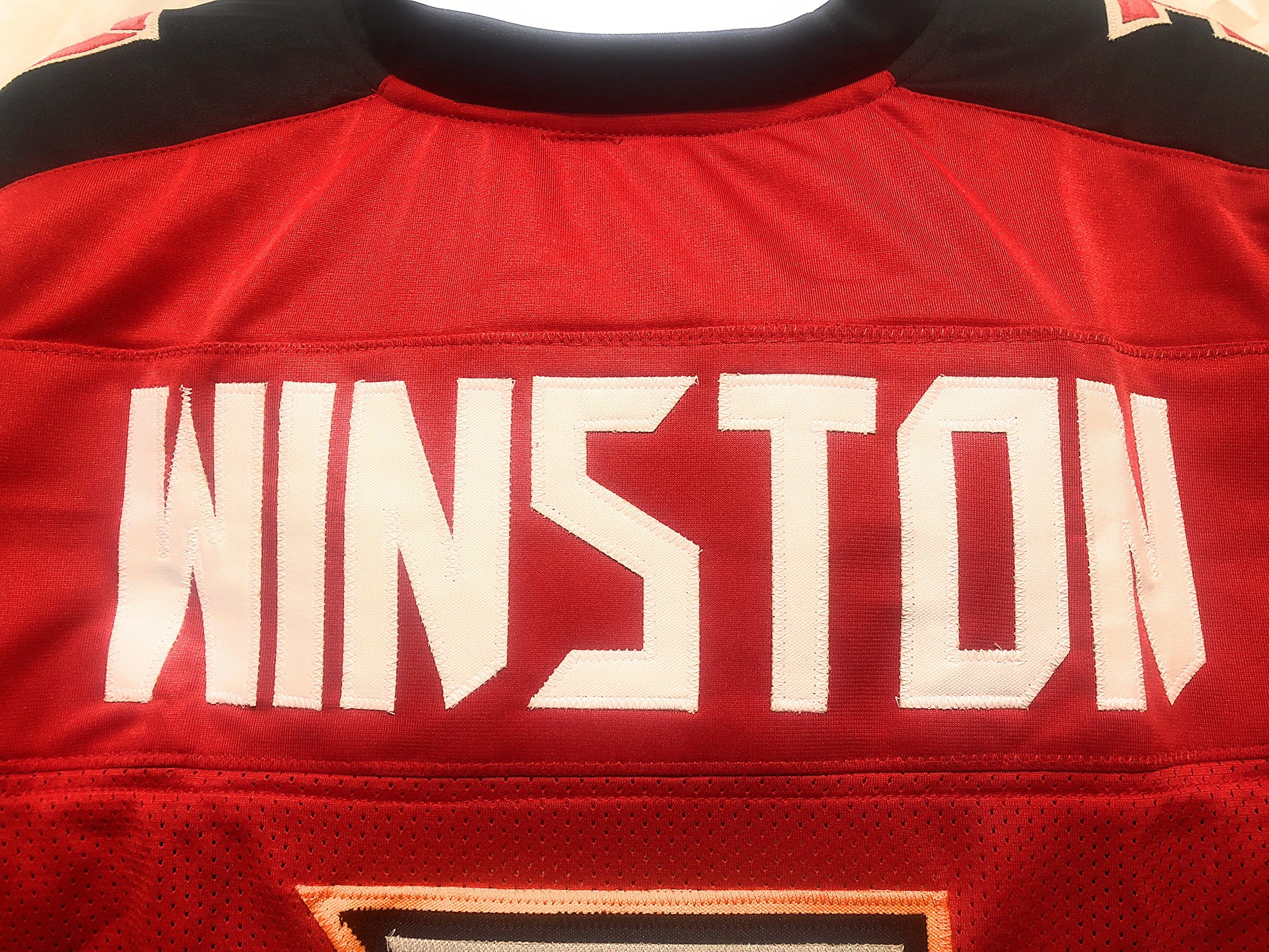 Jameis Winston Tampa Bay Buccaneers Signed Autograph Custom Jersey Winston GTSM Player Hologram Certified