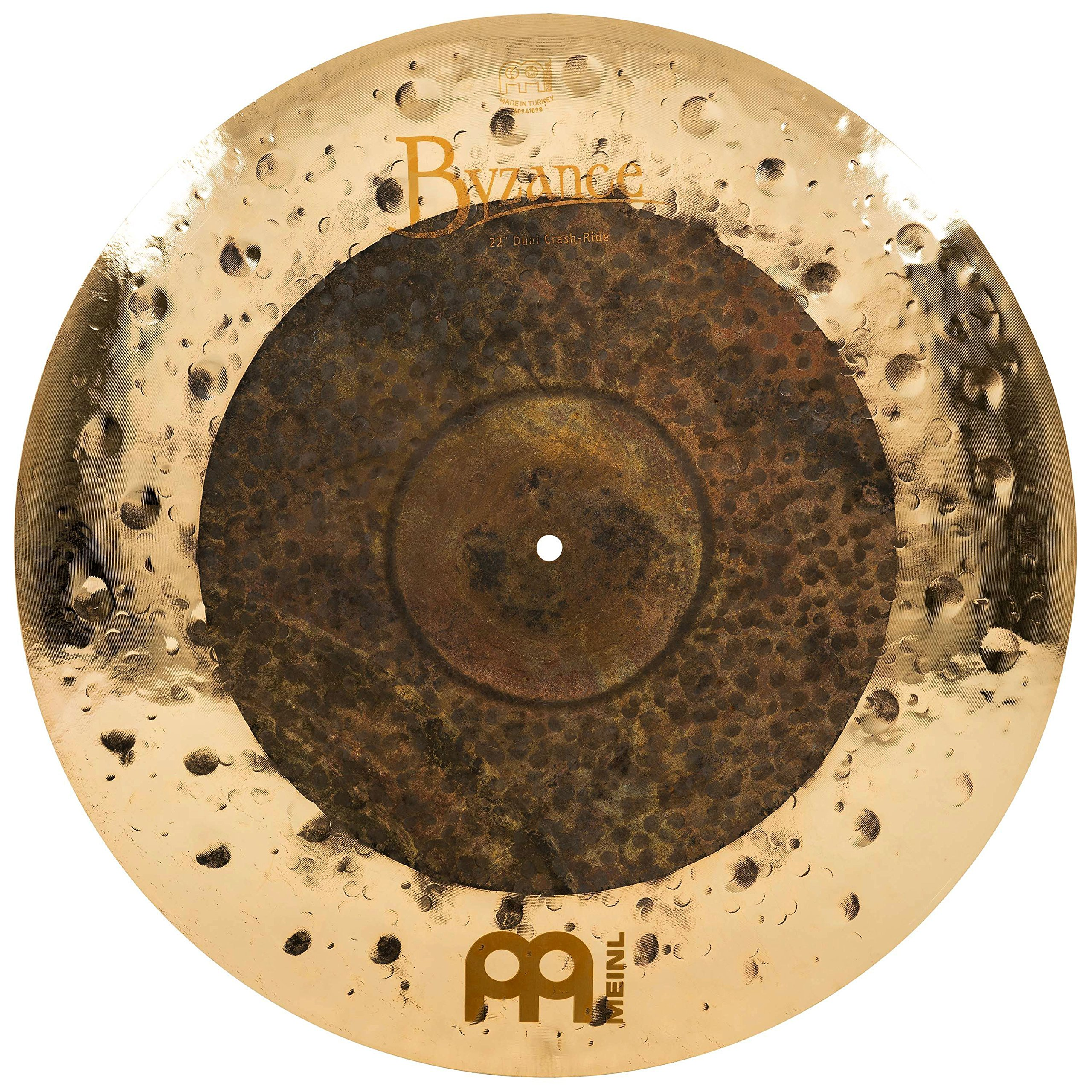 Meinl Cymbals B22DUCR Byzance Extra Dry 22-Inch Dual Crash/Ride Cymbal (VIDEO) by Meinl Cymbals