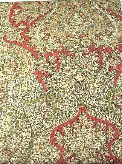 Ordinaire Ralph Lauren Ashbourne Camel Paisley Tablecloth, 60 By 84 Inch Oblong  Rectangular