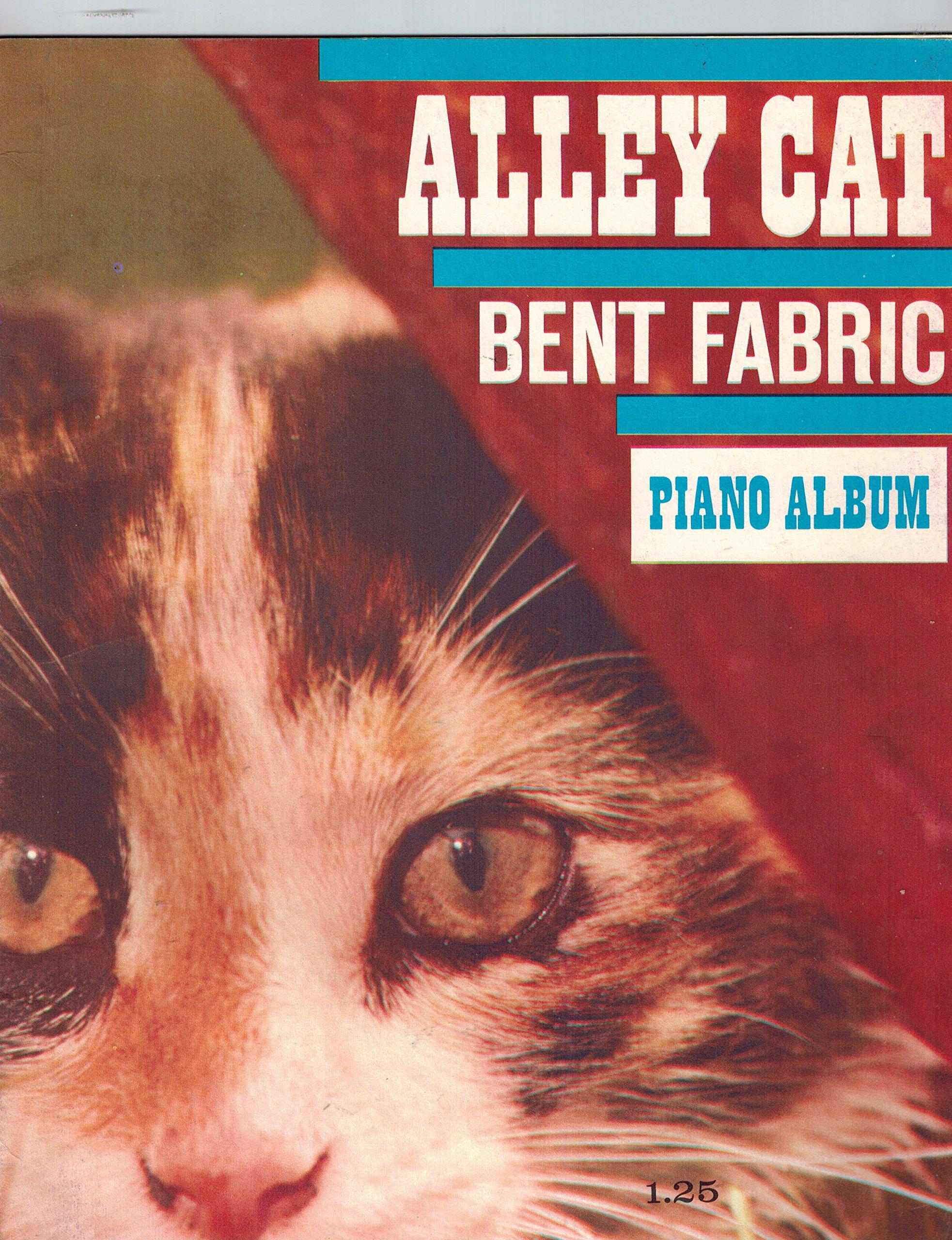 Alley Cat Bent Fabric Piano Album Frank Bjorn, Bent