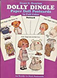 Dolly Dingle Paper Doll Postcards in Full Color