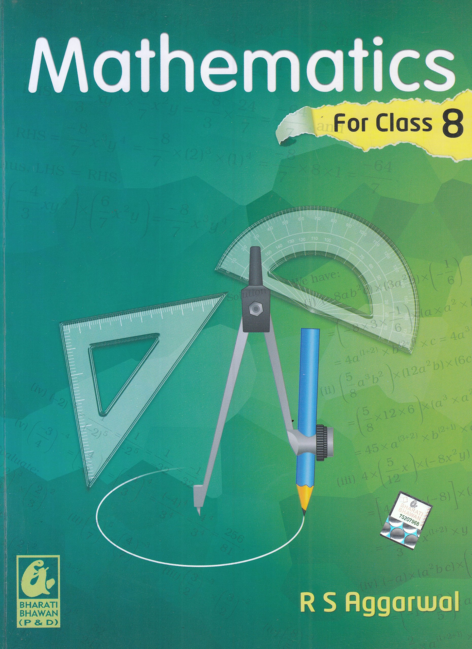 Mathematics for Class 8 by R S Aggarwal 2018-19 Session: Amazon.in ...