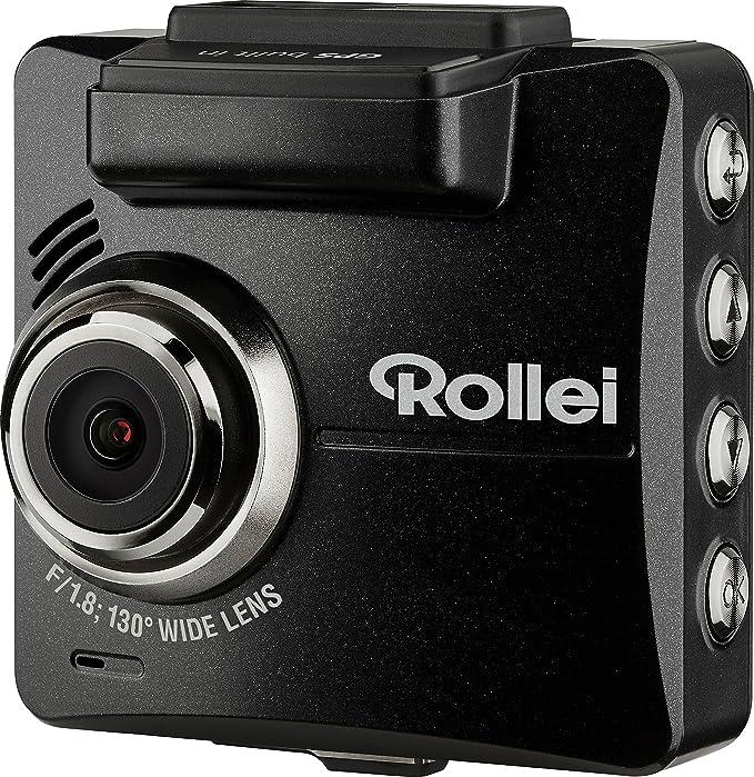 58 opinioni per Rollei CarDVR-310- Videocamera per Auto- Risoluzione Video 2k- Con GPS e Sensore