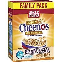 UNCLE TOBYS Cheerios  Honey, 570g