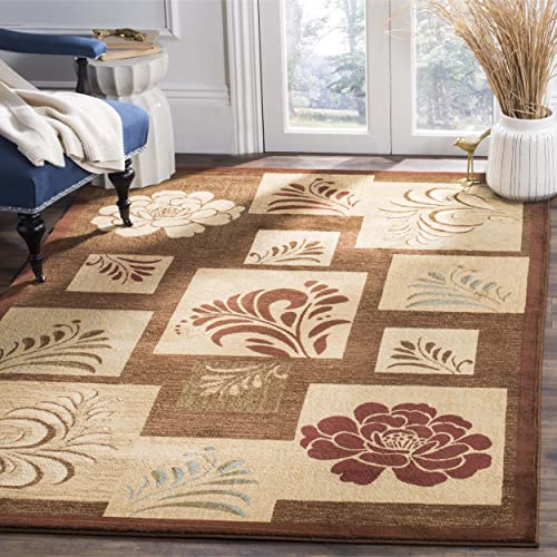 Safavieh Lyndhurst Collection LNH554-2591 Traditional Brown and Multi Area Rug 8 9 x 12
