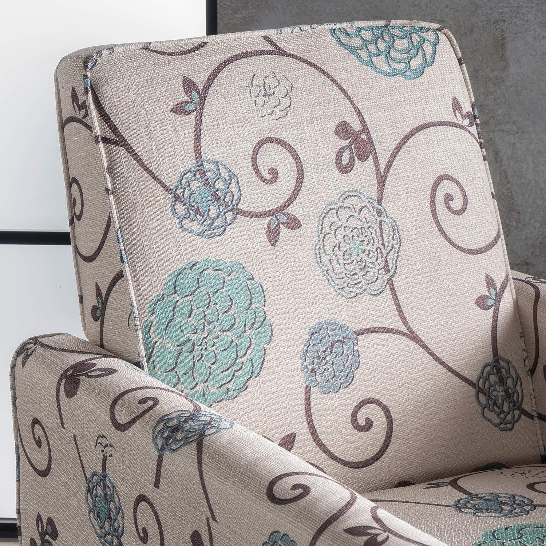 Amazon.com: Sillón de cuero reclinable Lucas, Tela ...