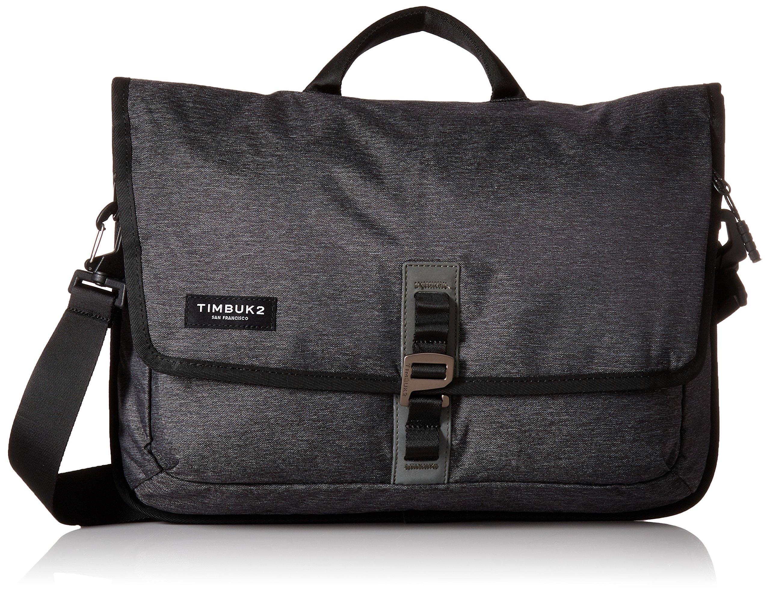 Timbuk2 Transit Briefcase, OS, Jet Black Static, One Size by Timbuk2