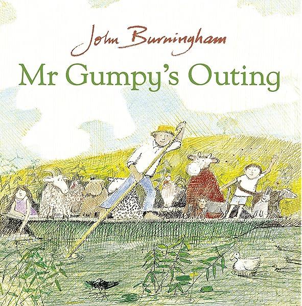Mr Gumpy's Outing: Amazon.co.uk: Burningham, John: 9780099408796 ...
