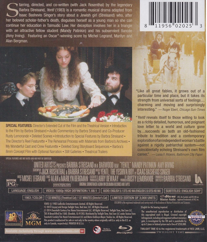 Amazon Yentl [Blu ray] BARBRA STREISAND Movies & TV