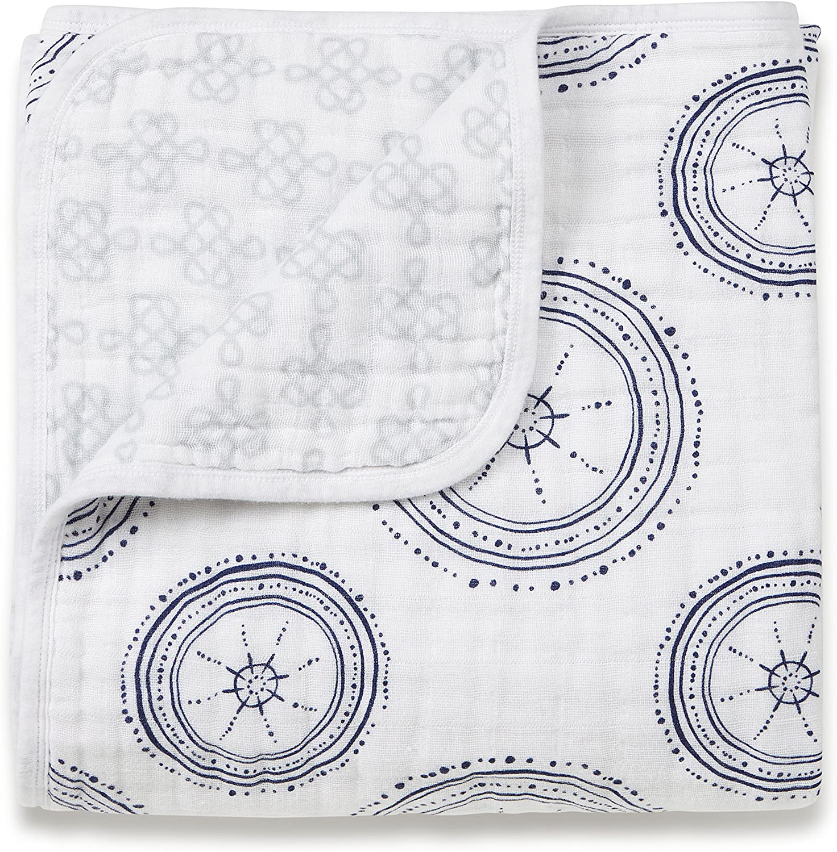 aden by aden 4 Layer lightweight and anais Dream Blanket 100/% Cotton Muslin