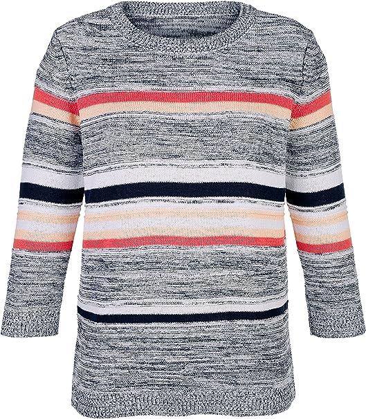 48 bis 52 schöner Farbverlauf Damen Pulli Pullover Paola Gr 560