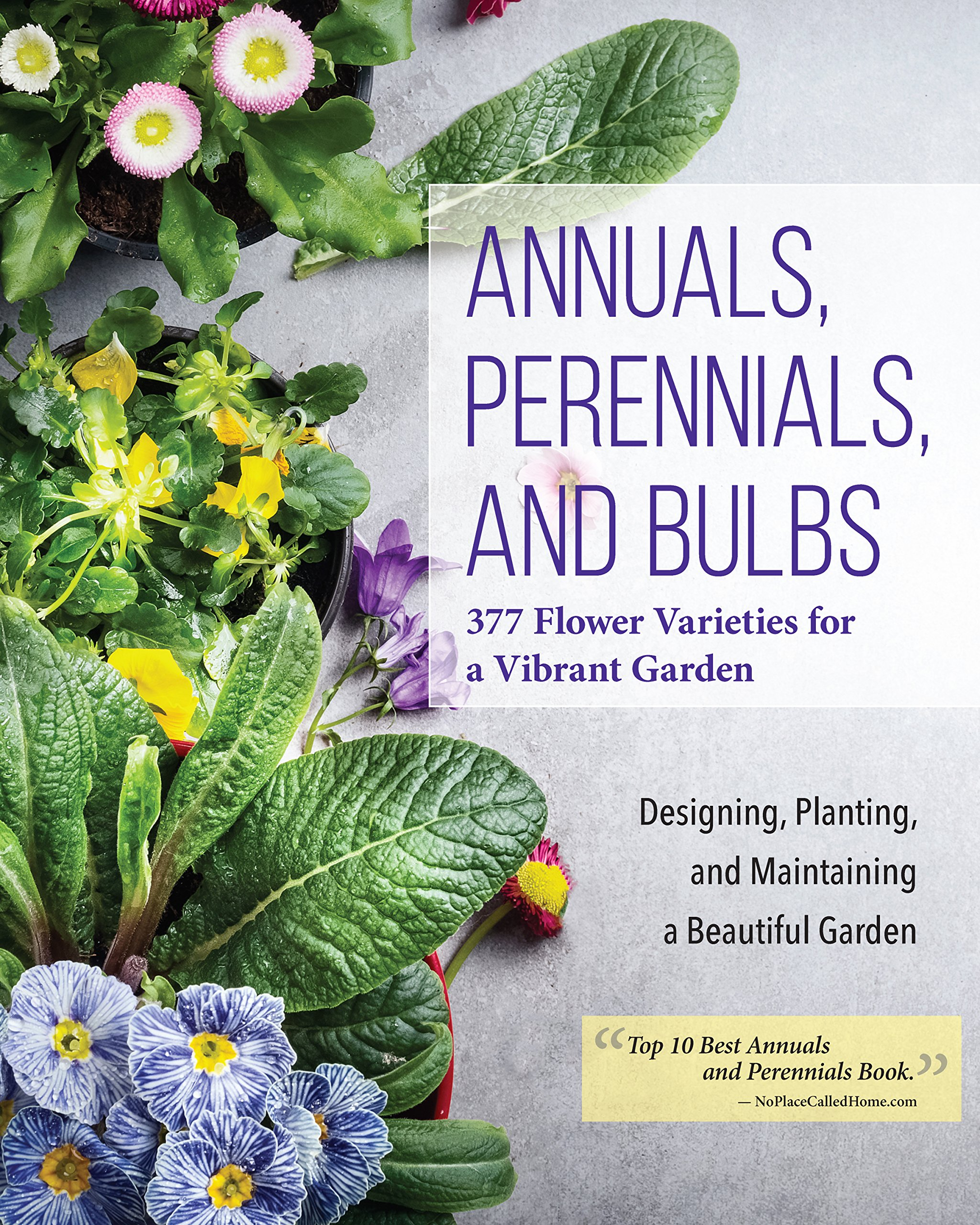 Annuals, Perennials, and Bulbs: 377 Flower Varieties for a Vibrant Garden (Creative Homeowner) 600 Photos and Over 40 Step-by-Step Sequences to Help Design, Improve, & Maintain Your Landscape by Design Originals