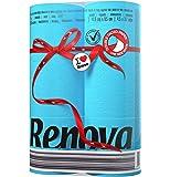 Renova Papel higiénico Red Label Azul - 6 rollos de papel