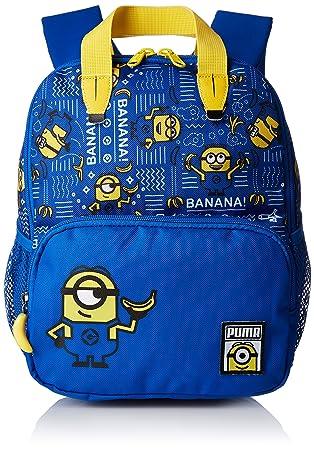34272561100c Puma Kinder Minions S Backpack Rucksack Lapis Blue AOP 22 x 12 x 28 cm
