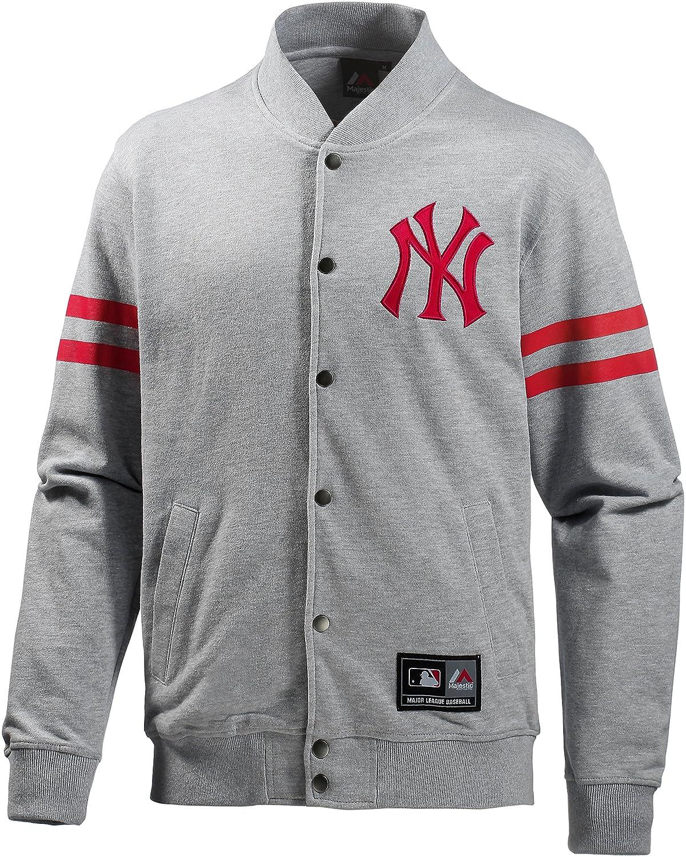 Chaqueta Majestic deportiva para hombre, color grey ...