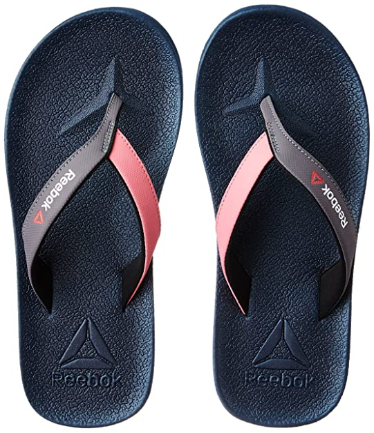Reebok Women's Adventure Flip-Flops and House Slippers Plastic Moulded Flip-Flops & House Slippers at amazon