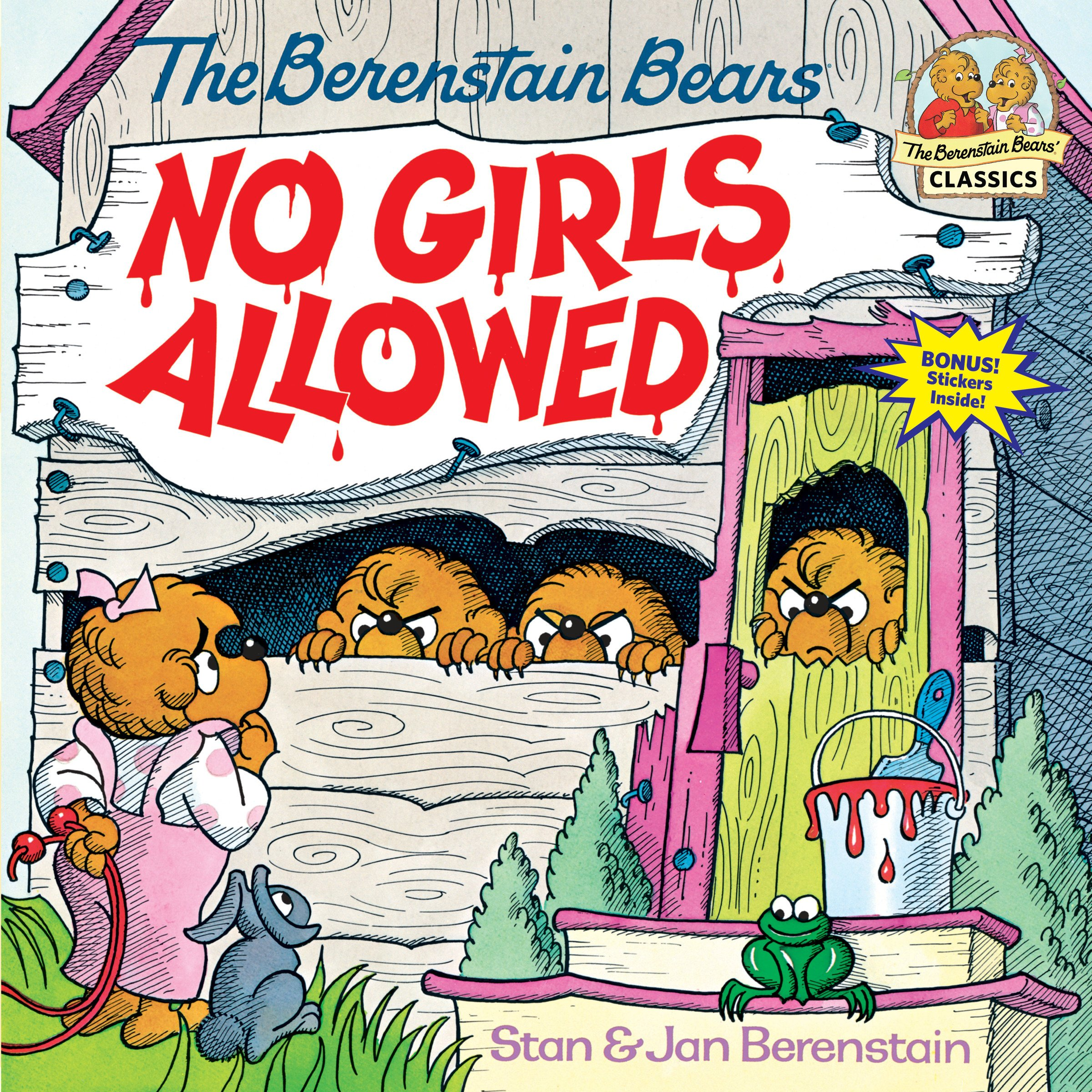 Download The Berenstain Bears No Girls Allowed ebook