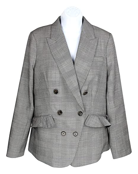 Amazon.com: J Crew 12 J5630 - Chaqueta de lana elástica para ...