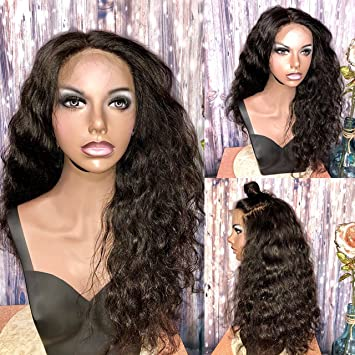Amazon.com : Full Lace Human Hair Wig Bleached