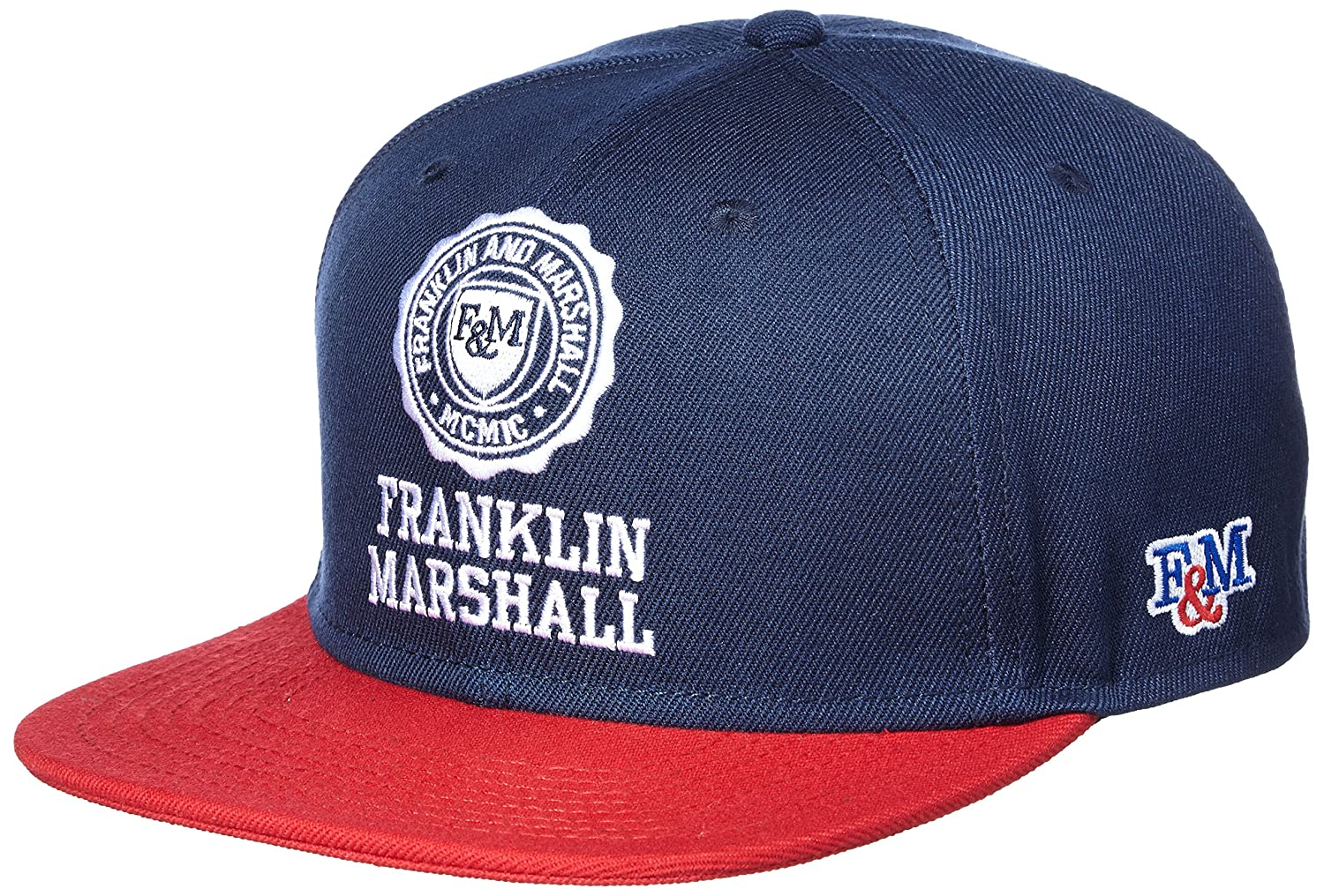 Franklin   Marshall CPUA901 Unisex Flat Trim Navy Snap Cap 58   Amazon.co.uk  Clothing 30dae53af1c5