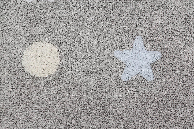 color gris Happy Decor Kids HDK-225 Alfombra lavable