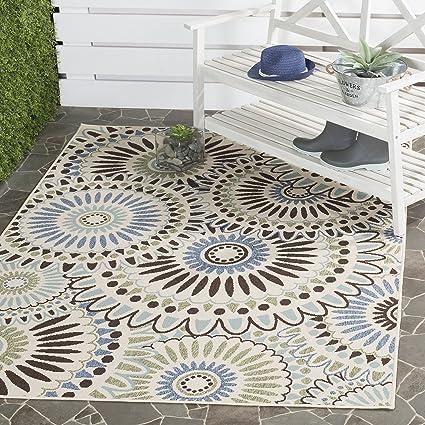 Amazon Com Safavieh Veranda Collection Ver091 0612 Indoor Outdoor