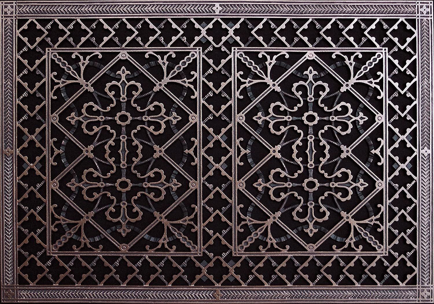 Decorative Grille, Vent Cover, or Return Register. Made of ...